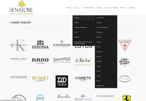 GioielleriaSenatore.it - Marchi - Setteweb.it - Portfolio Web