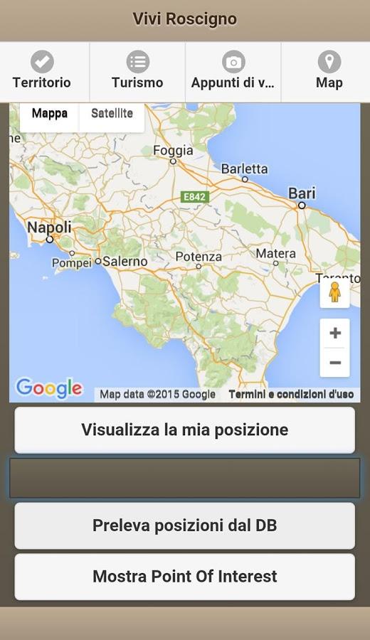 ViviRoscigno - App Mobile Android e iOS