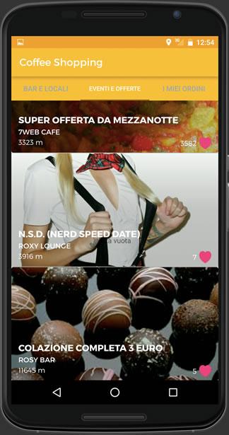Coffe Shopping - App Mobile
