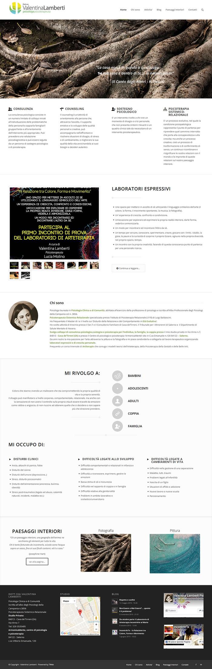 Psicologa Valentina Lamberti - Cava de Tirreni - Salerno