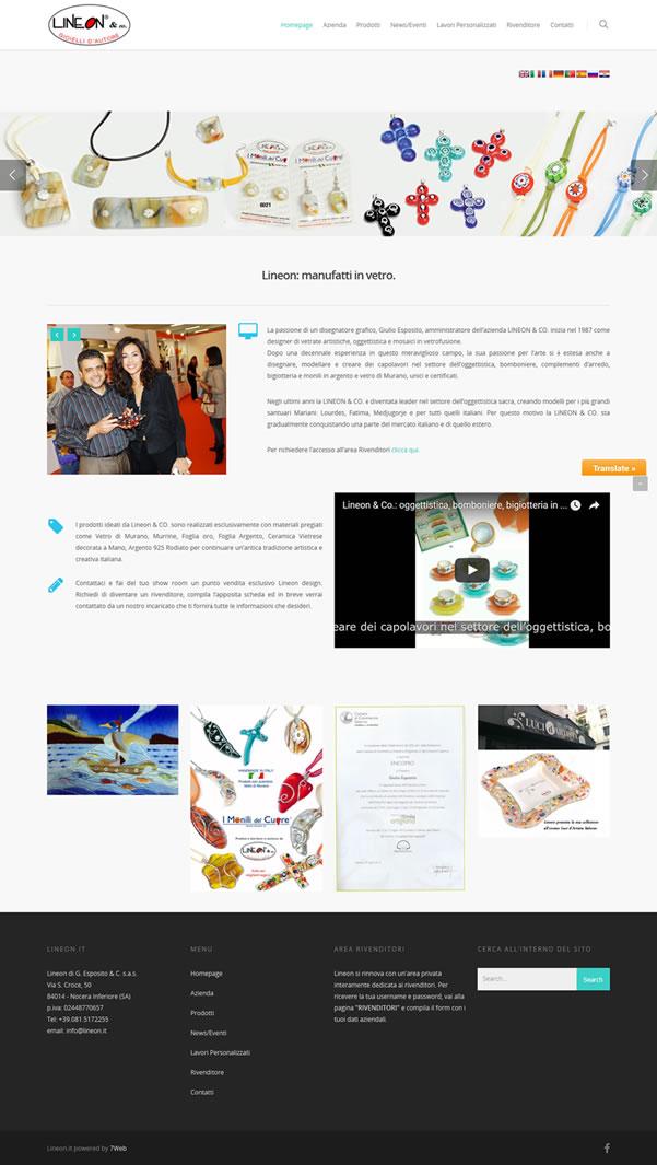 Lineon & Co. - Portfolio Web - 7Web - www.setteweb.it