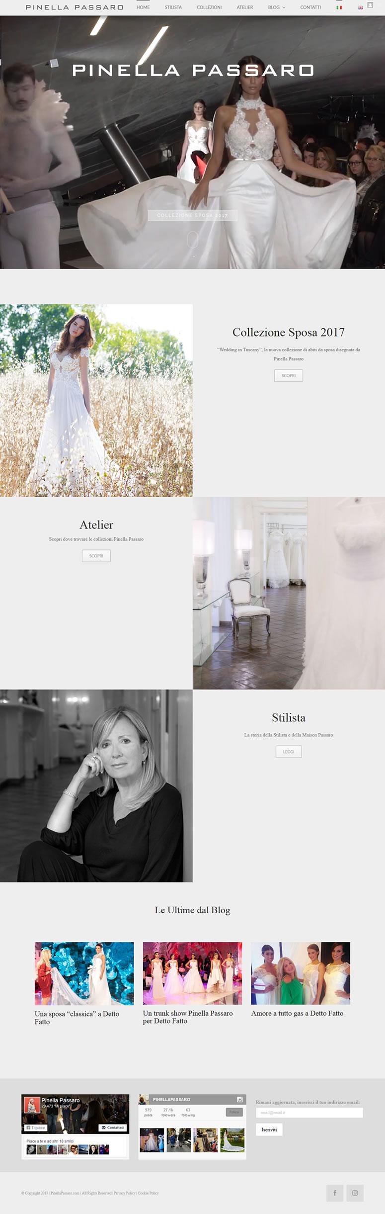 Pinella Passaro - Il wedding blog sul mondo sposa - www.SetteWeb.it